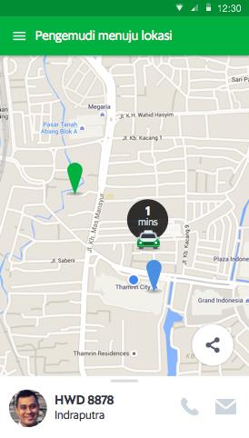 Grabcar Aplikasi Pesan Kendaraan Pribadi Online Grab Id