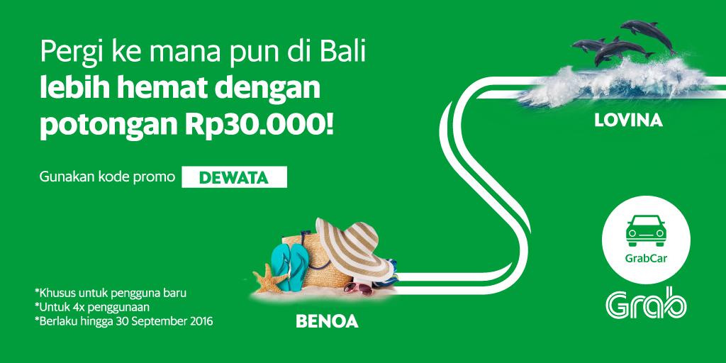 Naik Grabcar Di Bali Diskon 30 Ribu Yuk Download Grab Id