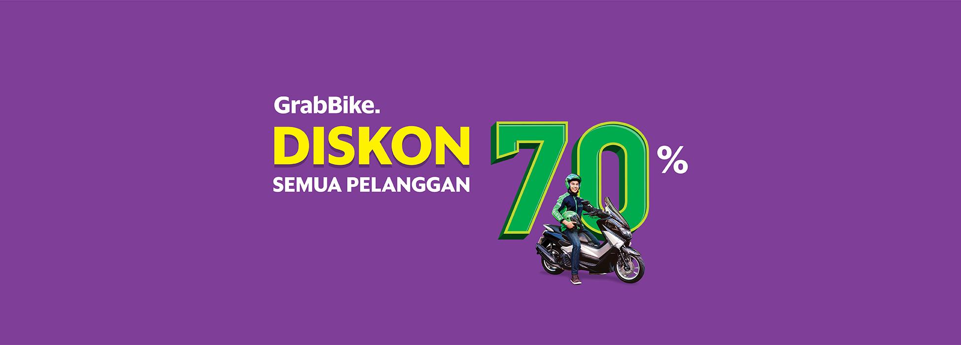 Siang Sore Diskon 70 Pakai Grabbike Grab Id