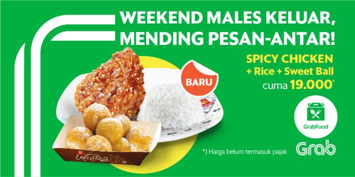 Promo Spesial Grab Food Lotteria Untuk Weekend Kamu Grab Id