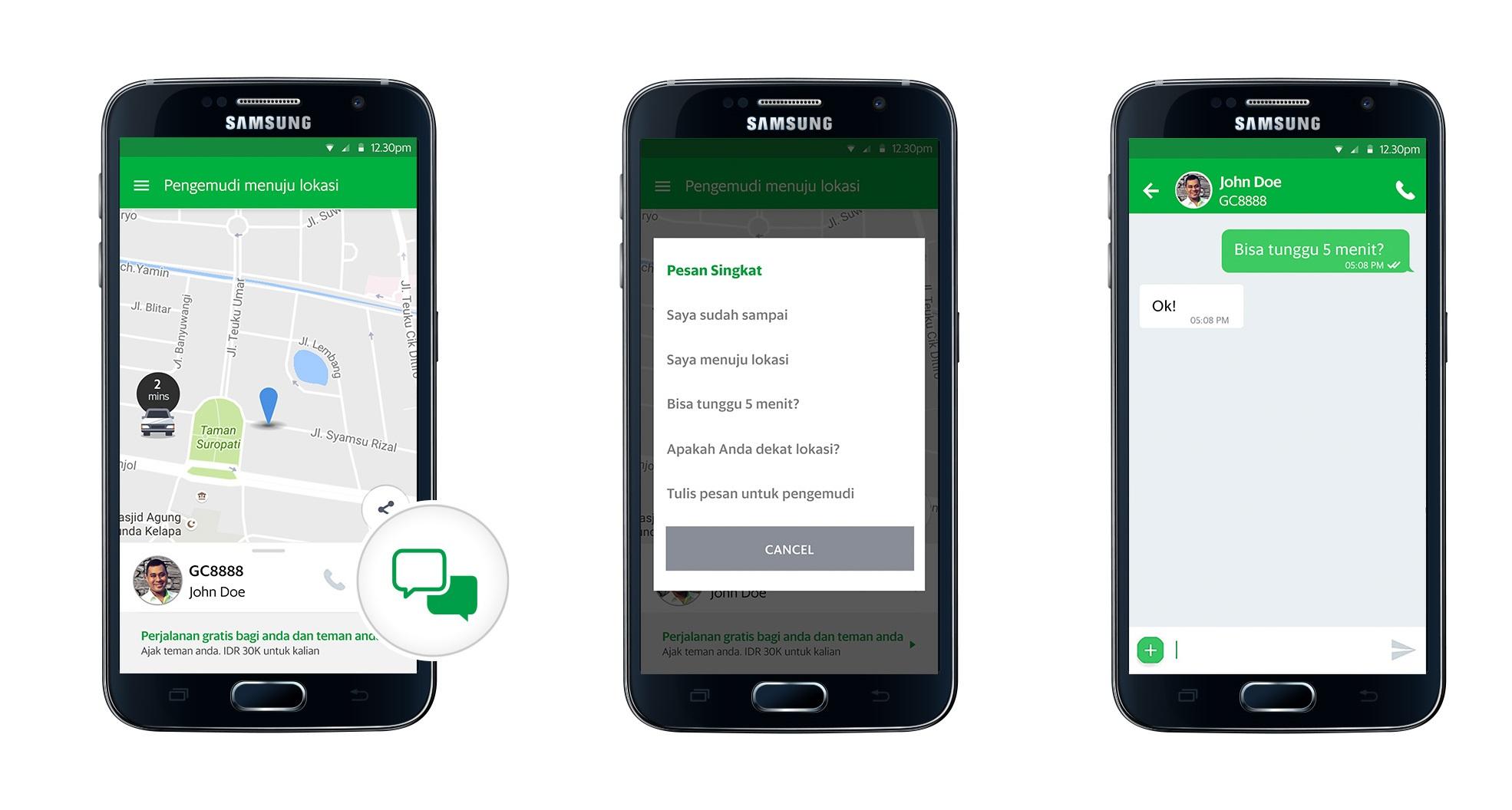 Grab Luncurkan Layanan In App Instant Messaging Grabchat Untuk Layanan Pemesanan Kendaraannya Di Seluruh Asia Tenggara Grab Id