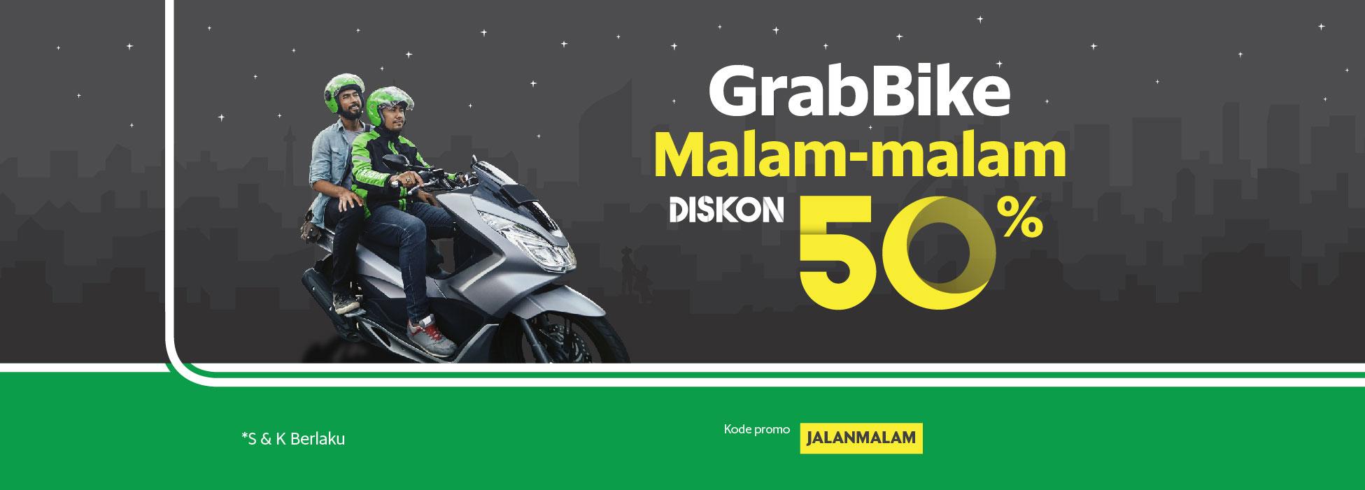 Grabbike Ramaikan Tahun Baru Dengan Diskon 50 Grab Id