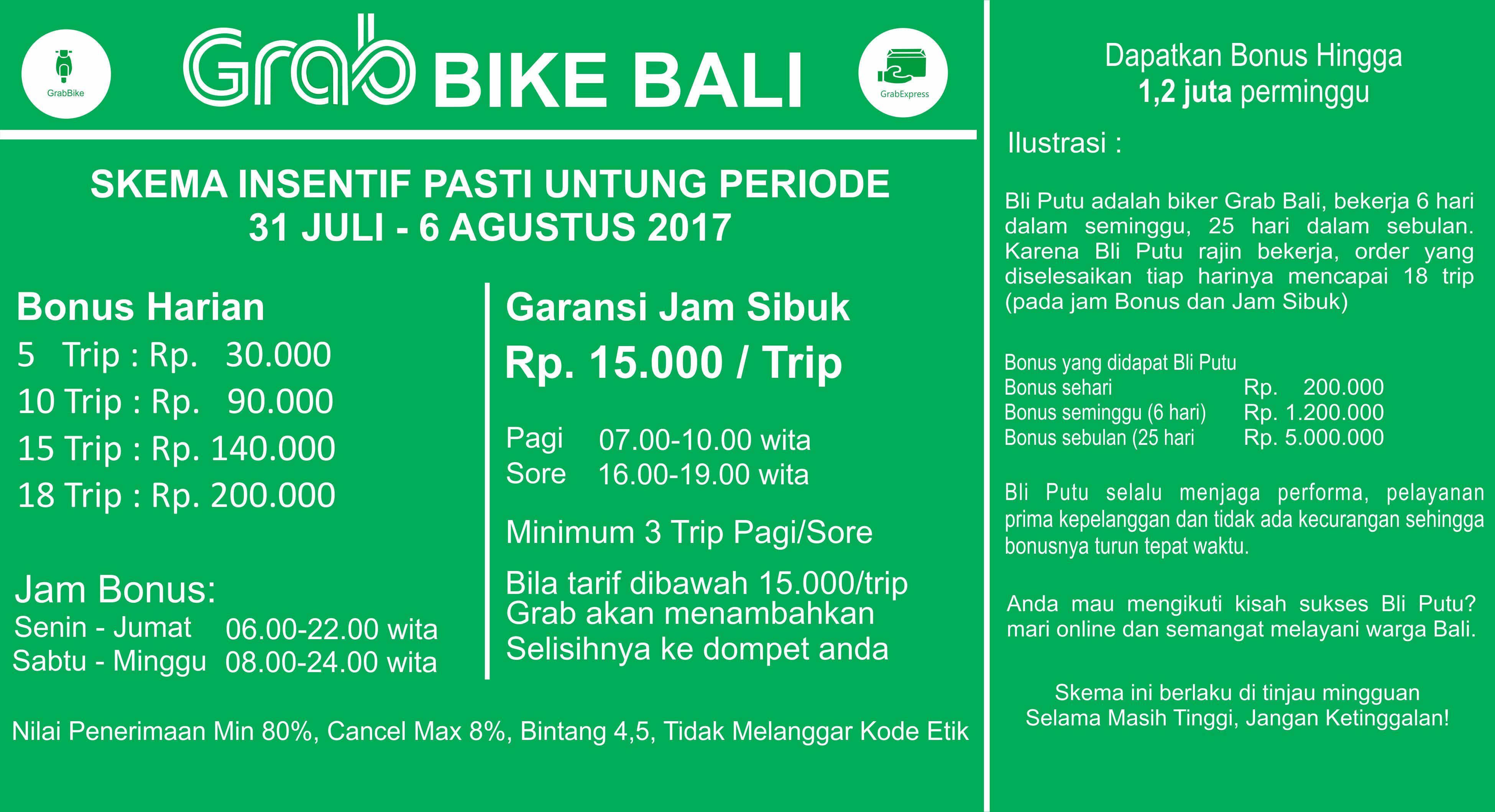 Gaji Grab Motor Sebulan Alamat Kantor Grab Indonesia