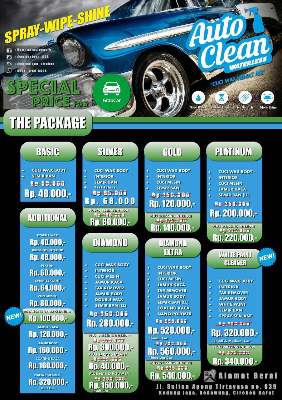 Waterless Di Easy Body 90 Capsule: Special Discount Cuci Mobil Autoclean
