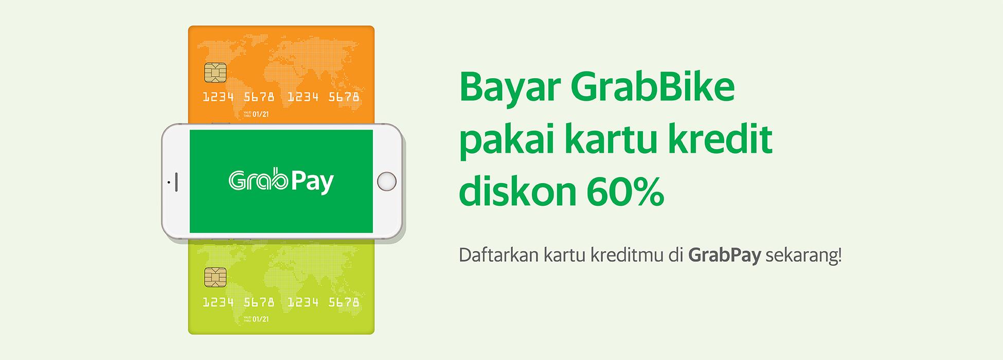 Nge Grabbike Lebih Irit Bayar Pakai Kartu Kredit Grab Id