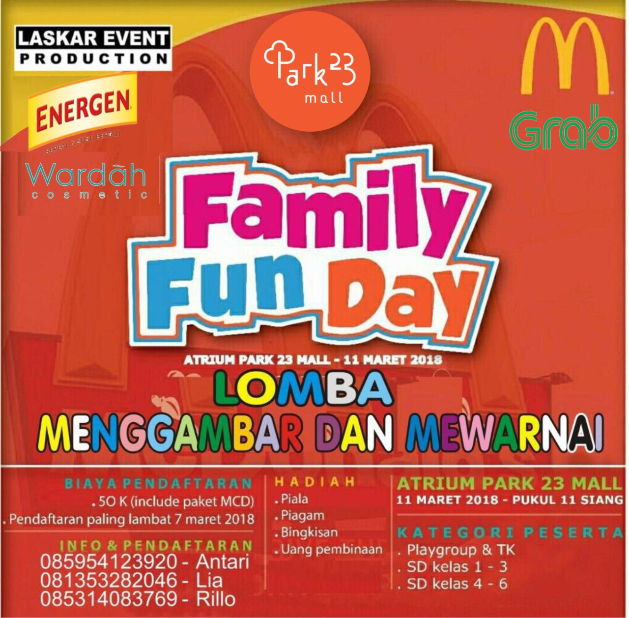 Grab Bali – Family Fun Day