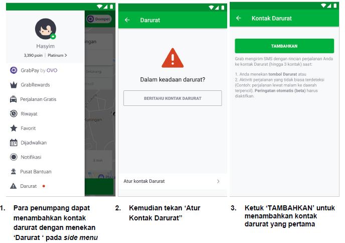 Grab Tegaskan Kembali Posisinya Sebagai Platform Paling Aman Di Indonesia Dengan Upaya Keselamatan Terbaru Grab Id