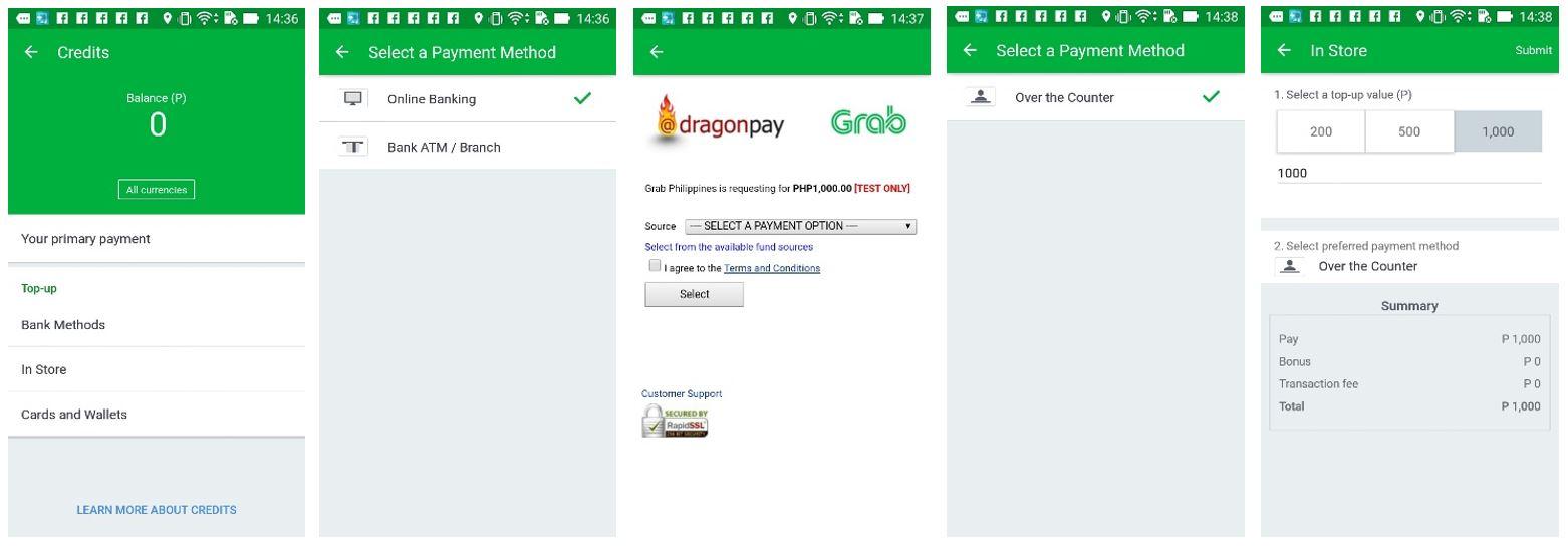 GrabPay Credits