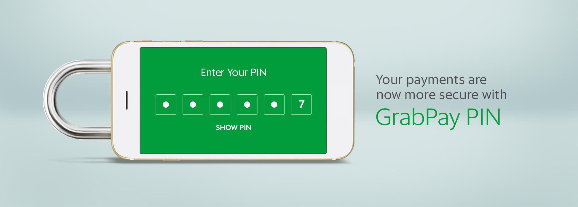 GrabPay Pin | Grab PH