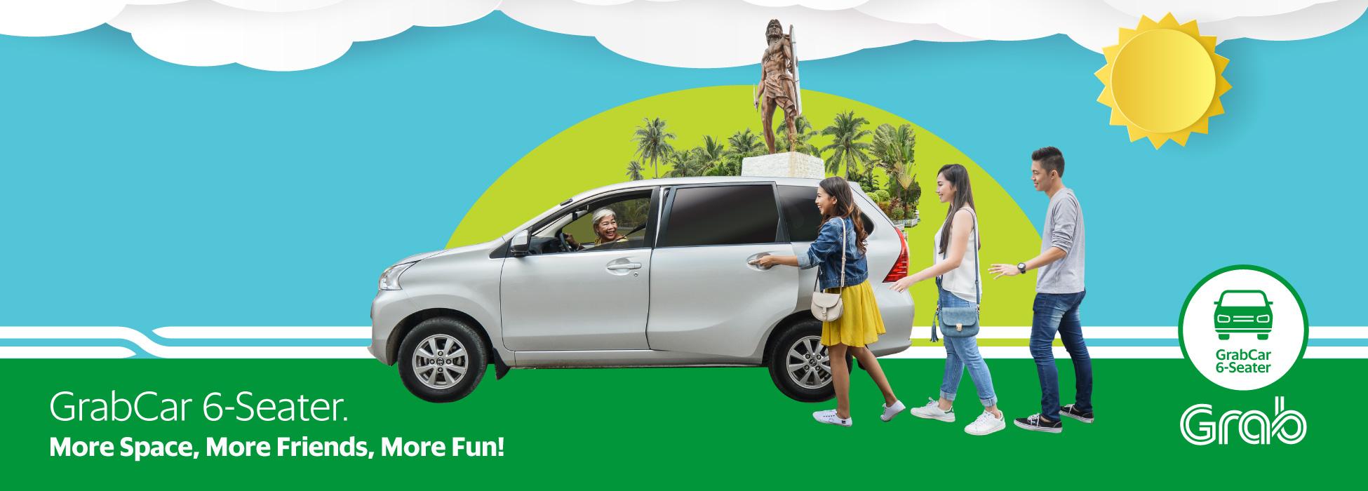Grabcar 6 Seater Is Now In Cebu Grab Ph