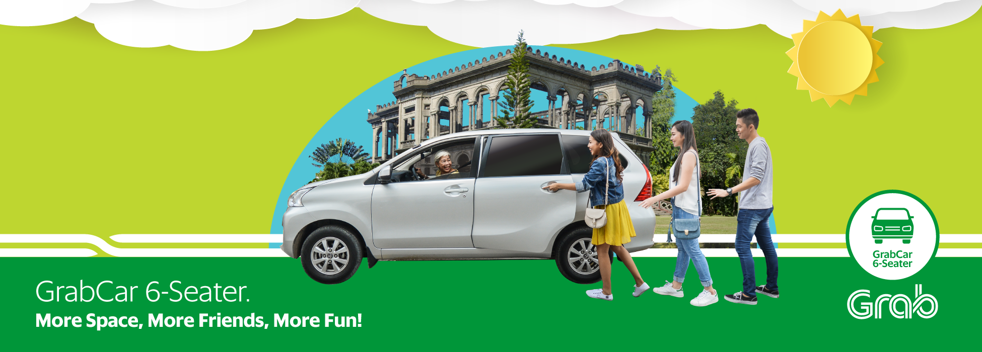 Grabcar 6 Seater Is Now In Bacolod Grab Ph