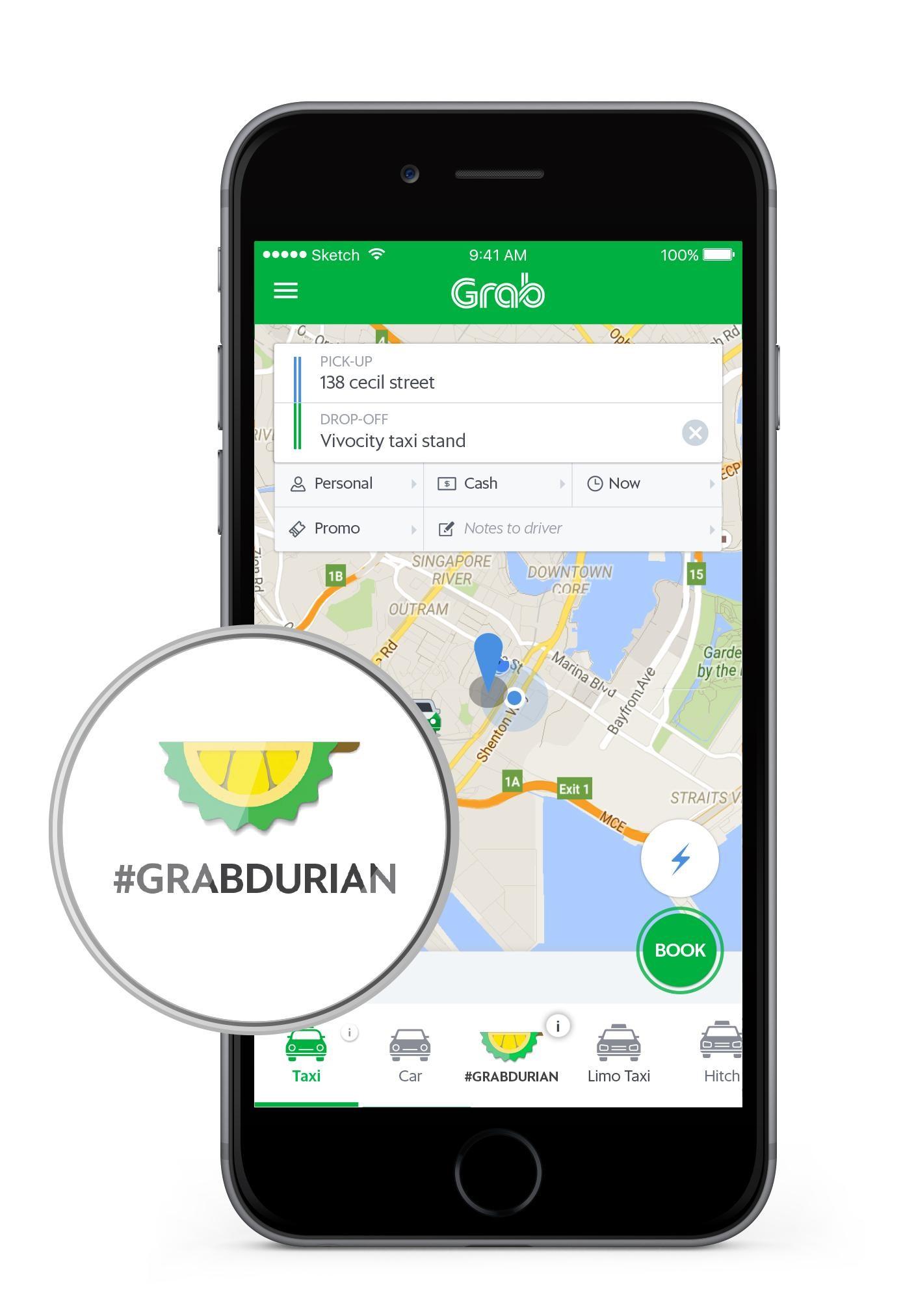 GrabDurian