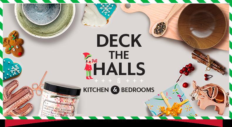 deck the halls kicthen bedrooms