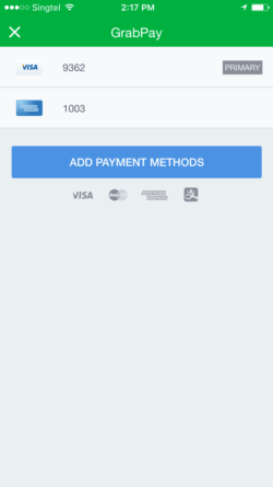 GrabPay-Add Payment