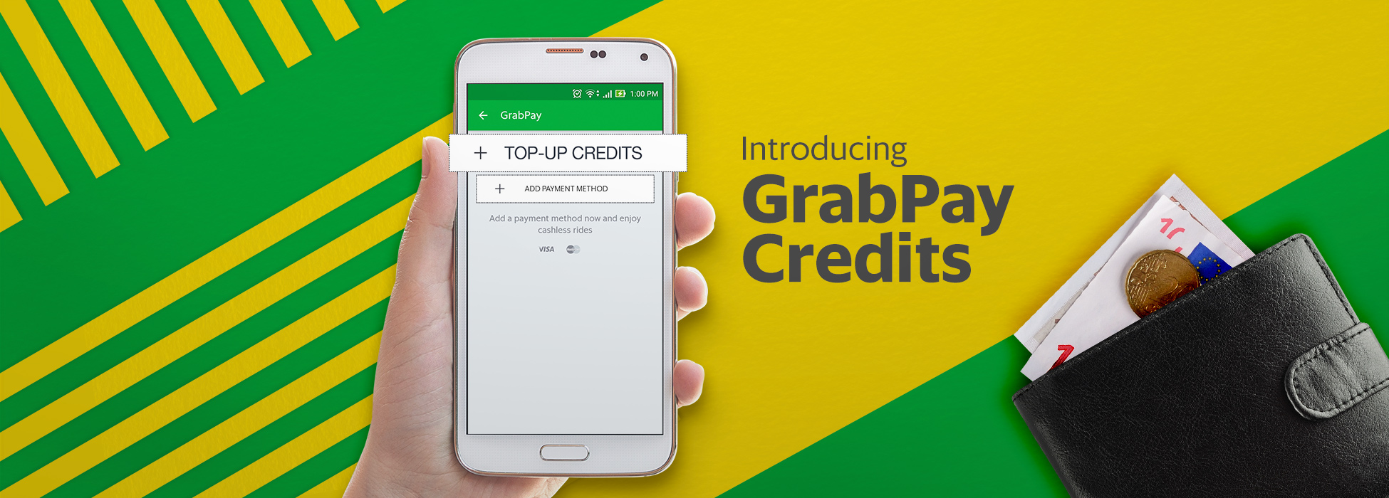 Grab delivers a cashless and seamless ride experience to everyone with  GrabPay Credits | Grab SG
