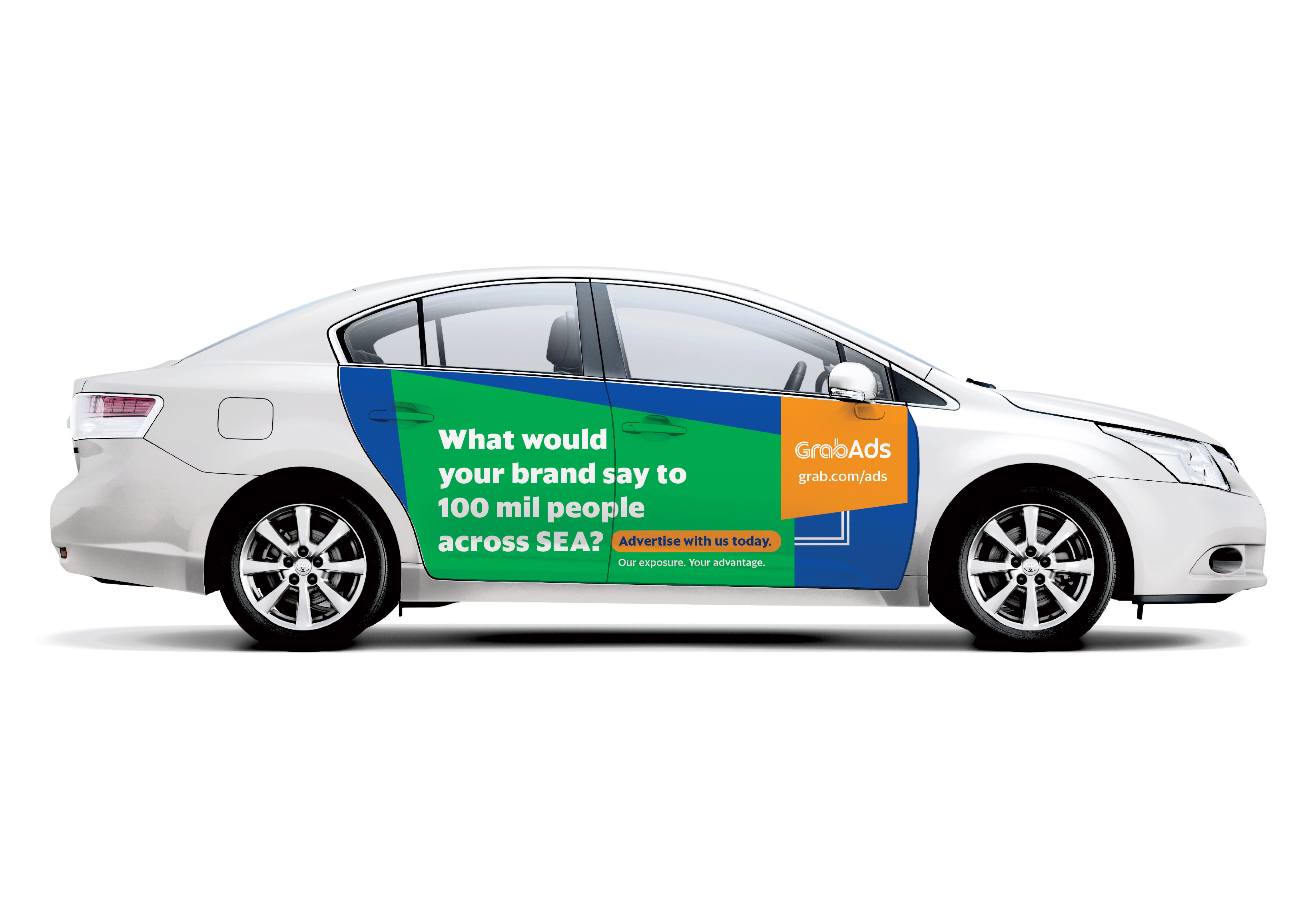 Corporate Car Online: Grab Launches GrabAds Online-to-Offline Advertising
