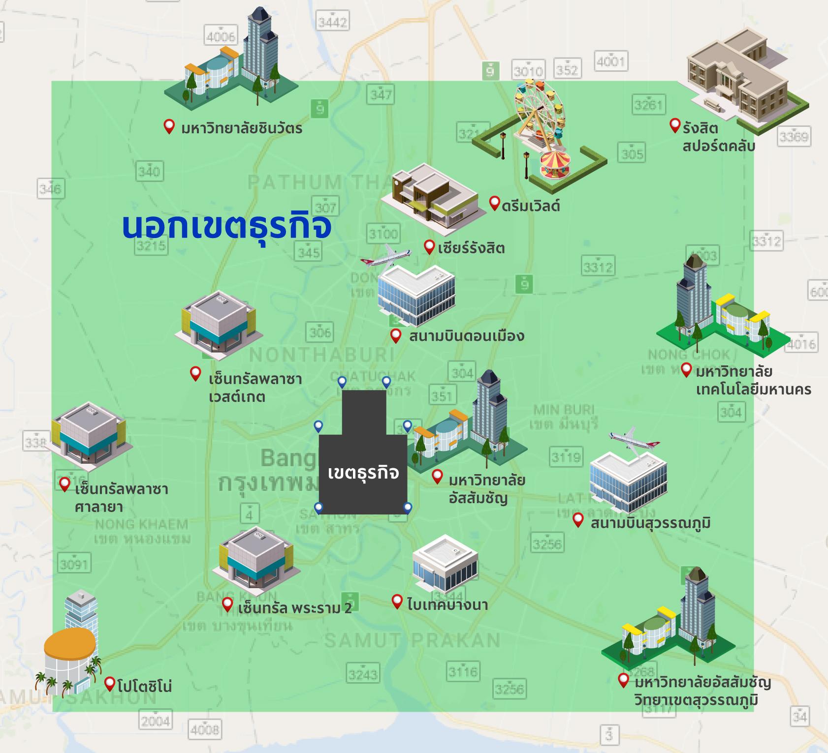Bangkok Non-CBD area