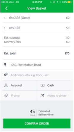GrabFood: Food Delivery Service To Your Doorstep | Grab TH