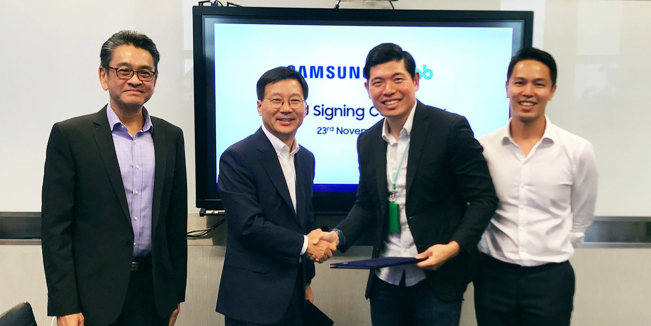 Grab and Samsung Sign MOU to Drive Digital Inclusion in ...